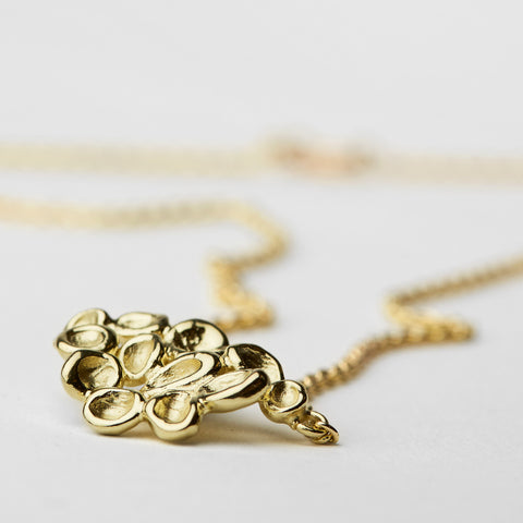 Erythrocyte Gold Necklace