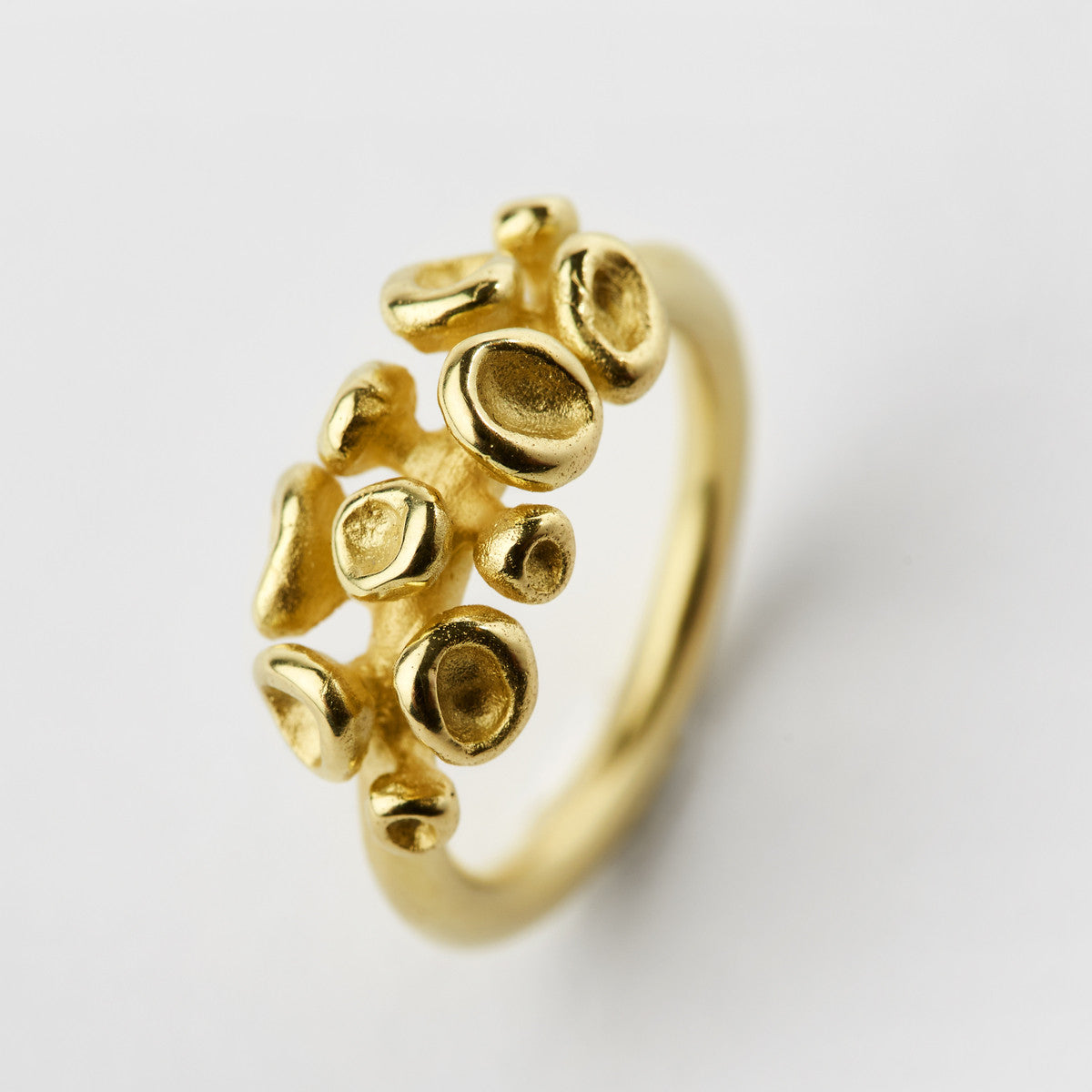 Erythrocyte Gold Ring