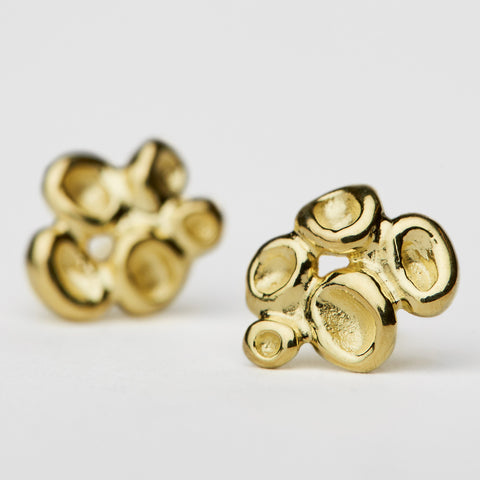 Erythrocyte Gold Earrings