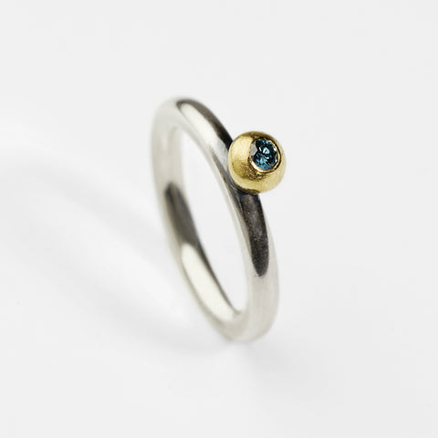 Chameleon Ocean Blue Ring