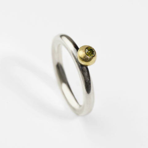 Chameleon Olive Green Ring