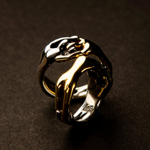 Embrace Gold & Silver Rings