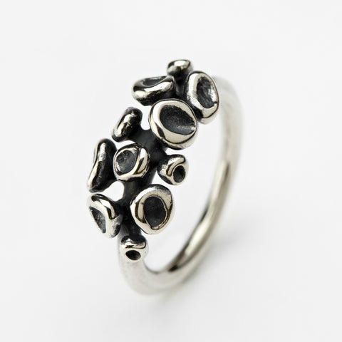Erythrocyte Silver Ring