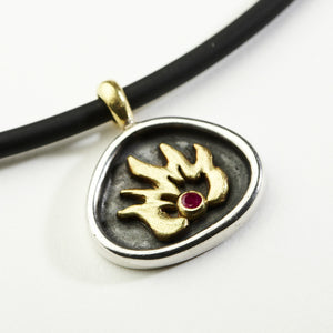 On Fire Pendant