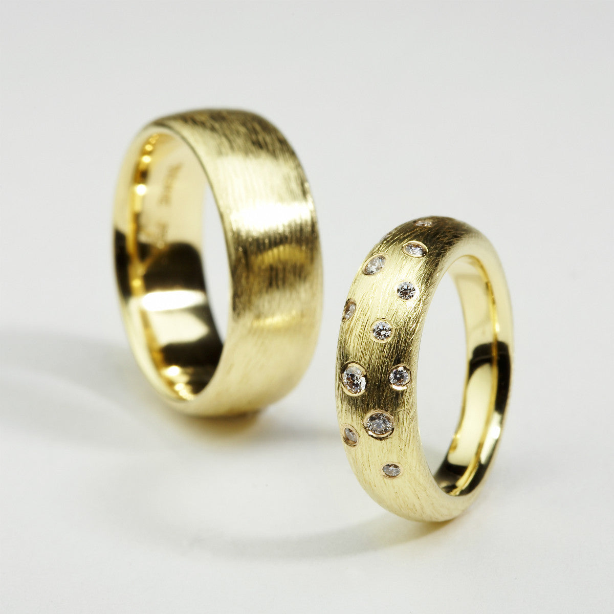 Incline Gold Rings