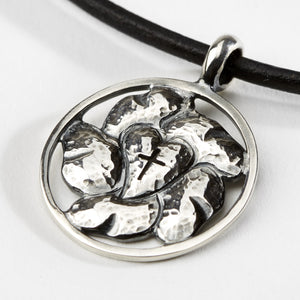 Luther Rose Silver Pendant