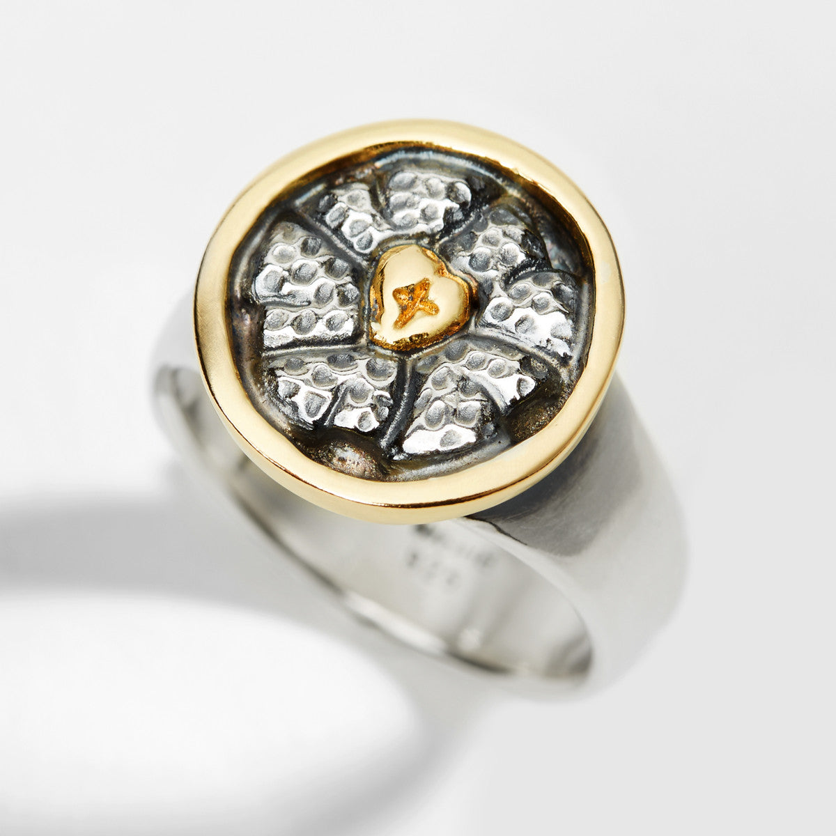 Luther Rose Silver & Gold Ring