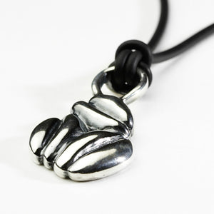 Mocca Silver Necklace