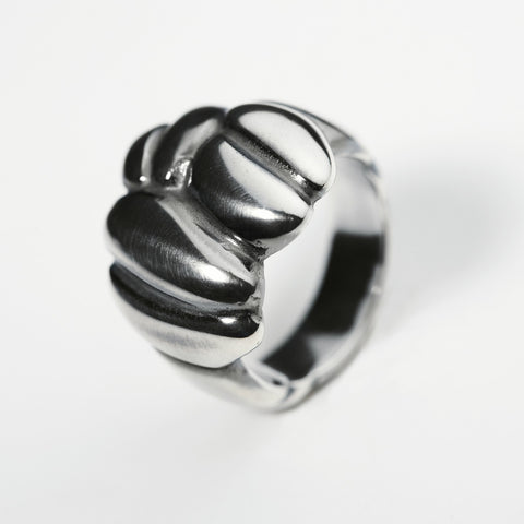 Mocca Silver Ring