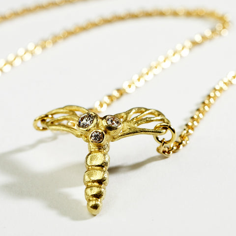 Mosquito Gold Necklace
