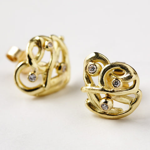 Plasma Gold Earrings