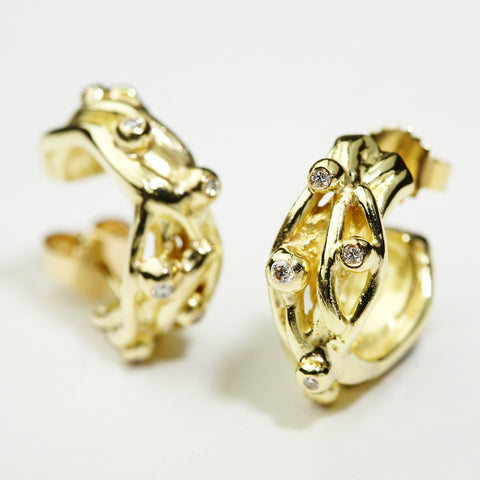 Seafruit Gold Earrings