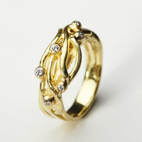 Seafruit Gold Ring