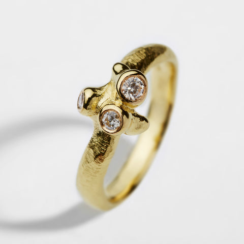 Sprouting Gold Ring