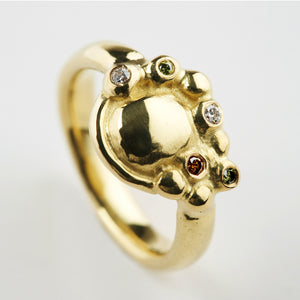 Synthesis Gold Ring