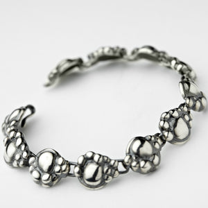 Synthesis Silver Bracelet