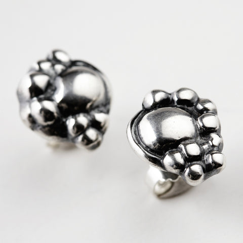 Synthesis Silver Earrings