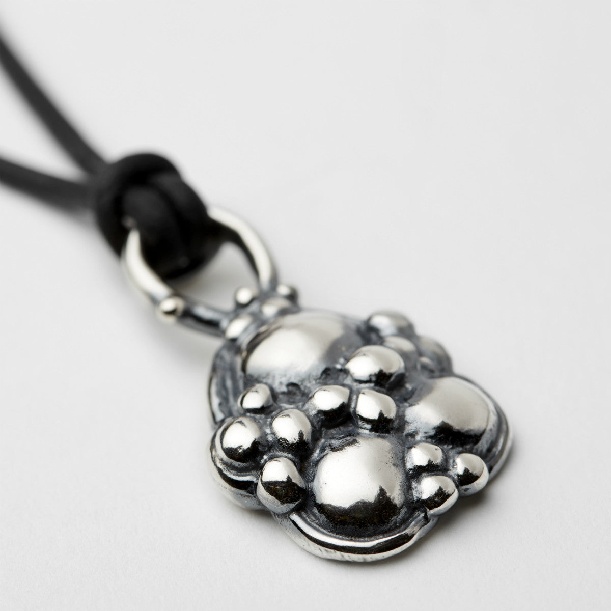 Synthesis Silver Necklace