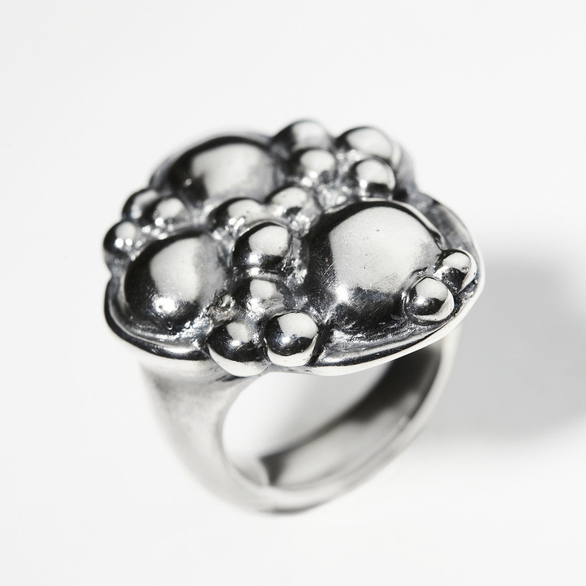 Synthesis Silver Ring (Large)