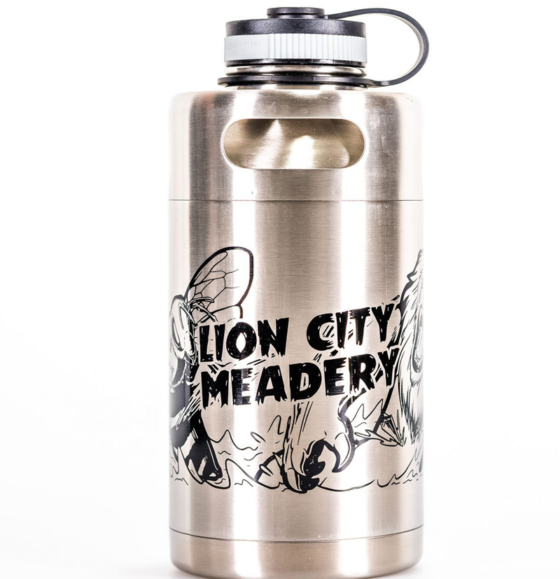 Lion City Meadery Growler 2L