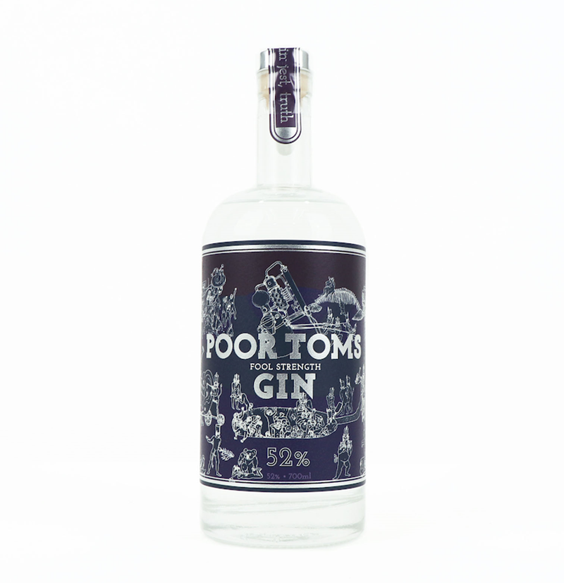 Poor Toms Fool Strength Gin