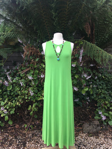 Keyhole Dress (Green)