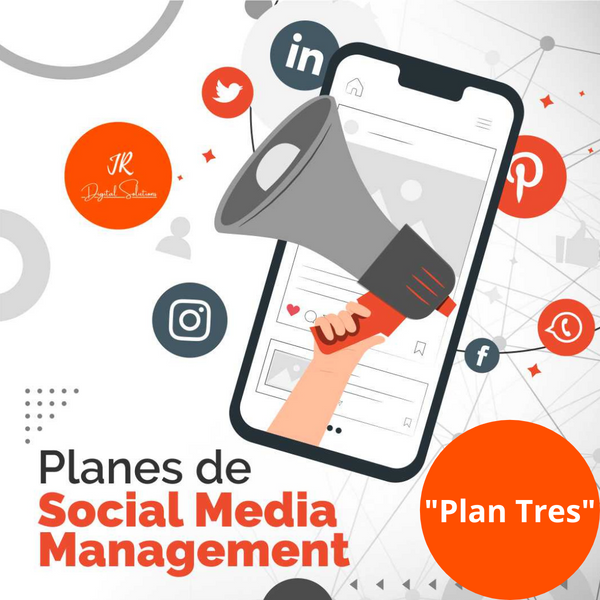 "Social Media Management Plan ""Tres"""