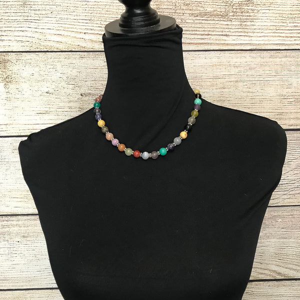Martha Collection of Semi-Precious Stones Beaded Necklace