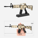 Toy Gun Metal Scale Model Camo M4A1