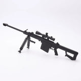 Toy Gun Metal Scale Model Black M82