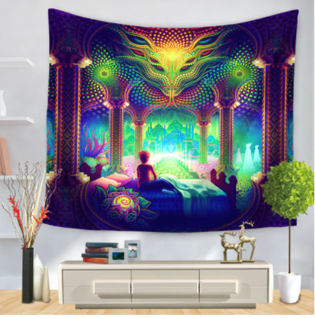 A Serpent Dream Tapestry