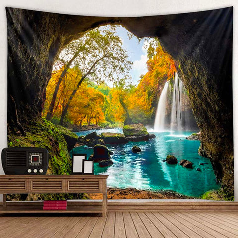 Calming Cave Tapestry