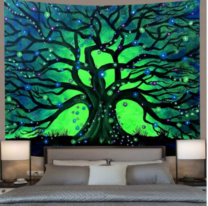 Firefly Sanctuary Tapestry