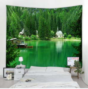 Green Lake Tapestry