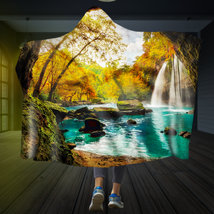 Cave of Calm Hooded Blanket
