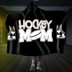 Hockey Mom Hooded Blanket