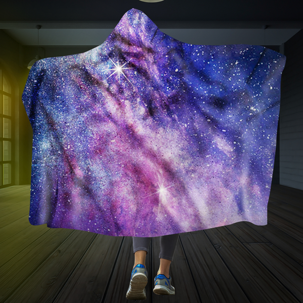 Milky Way Hooded Blanket