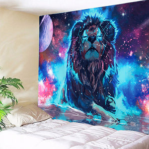 Lion Of The Stars Tapestry