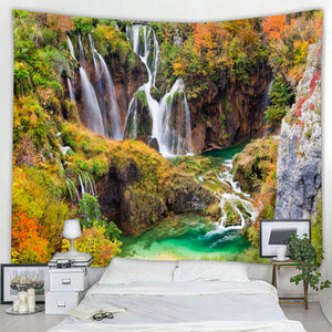Mountain Falls Tapestry