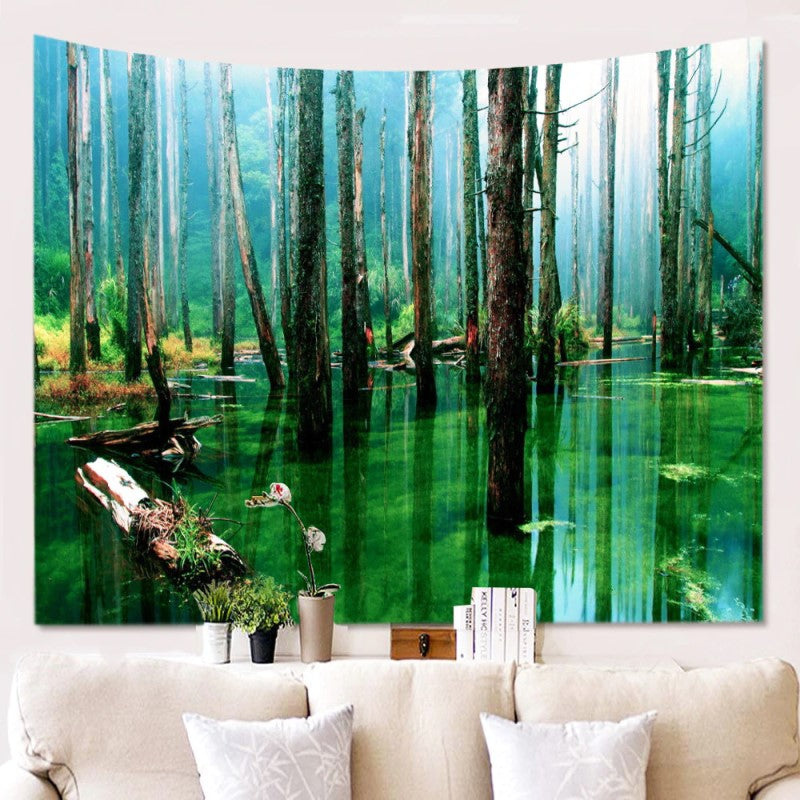 Natural Reflection Tapestry