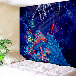 Space Shrooms Tapestry