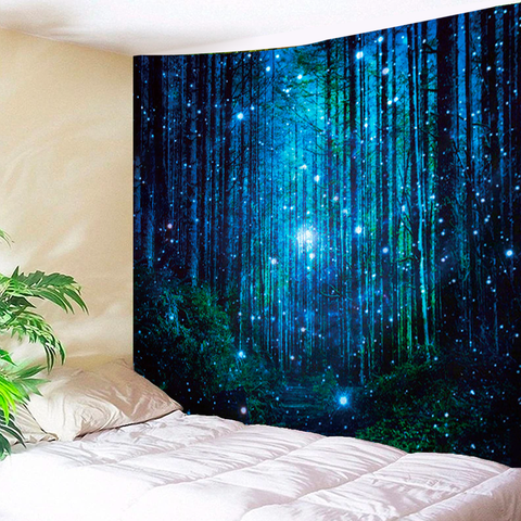 Sparkling Woods Tapestry