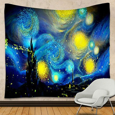 Star Filled Nights Tapestry