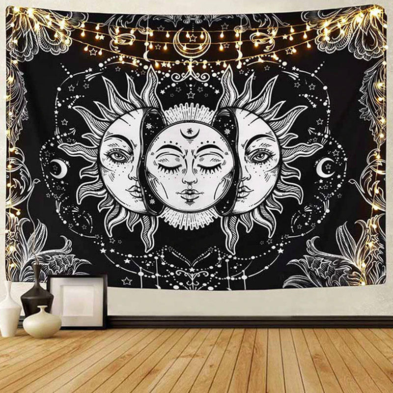 Sun And Moon Tapestry