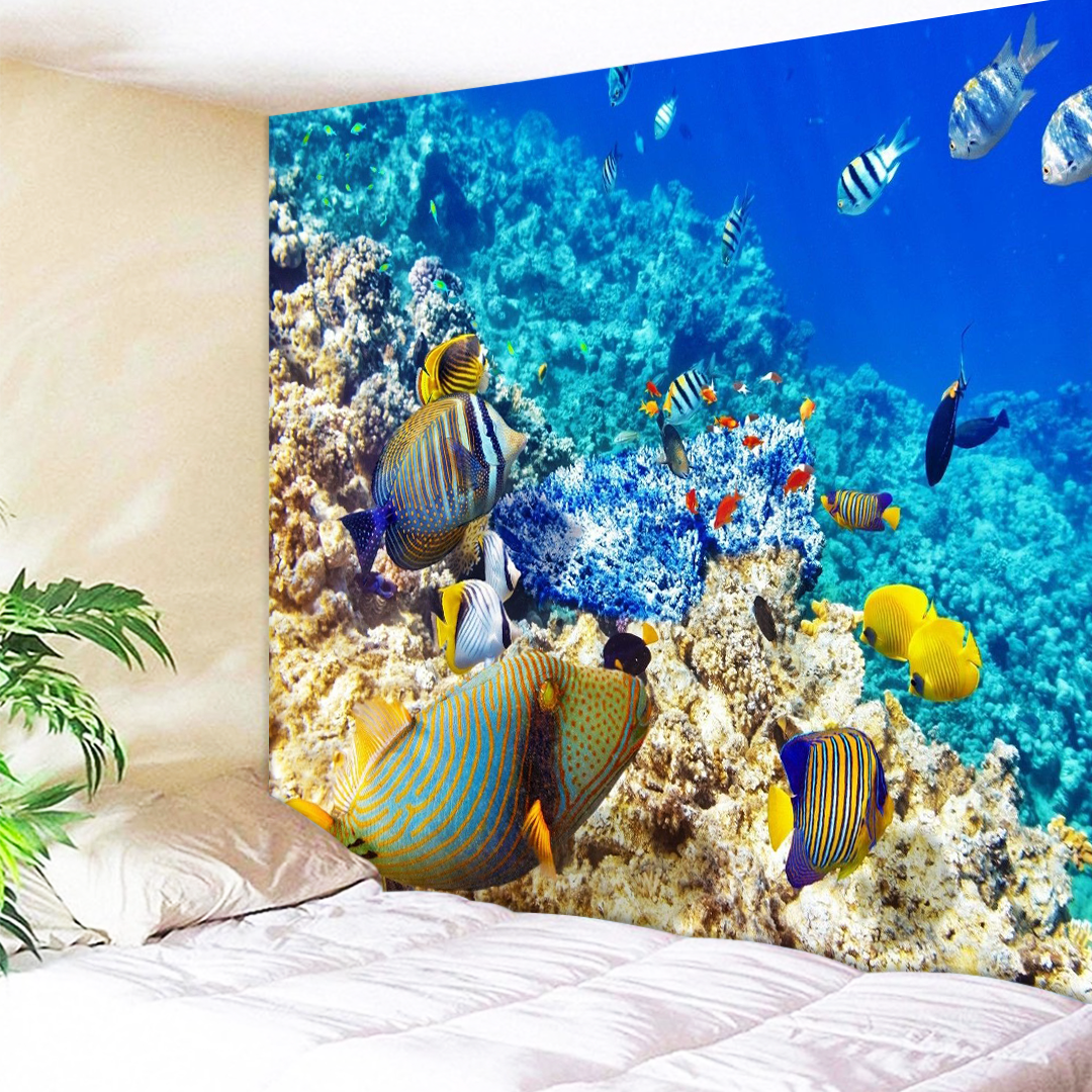Tropical Fish Tapestry