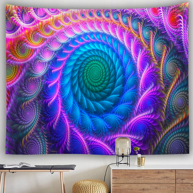 Tunnel Of Wonder Tapestry