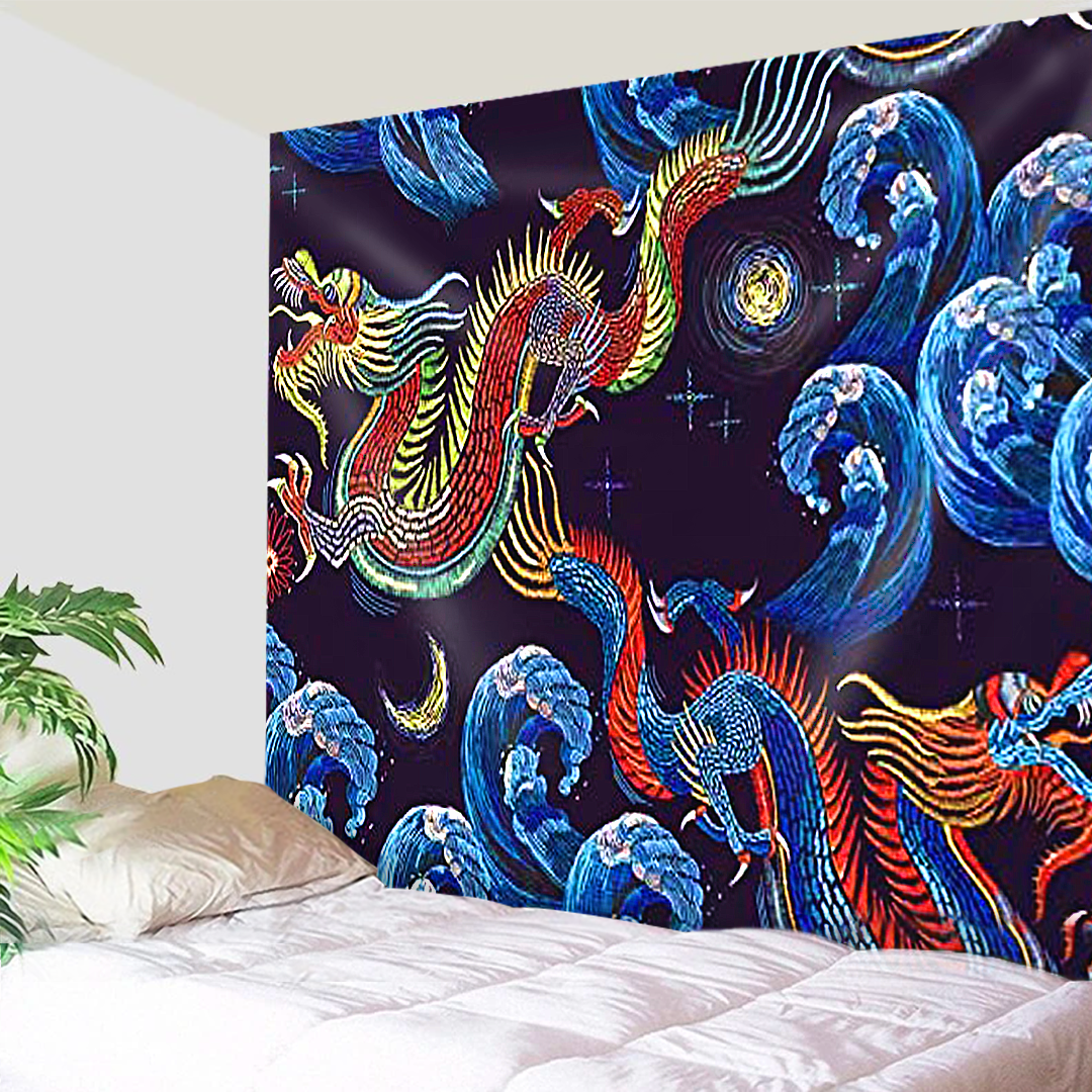 Sea Of Dragons Tapestry