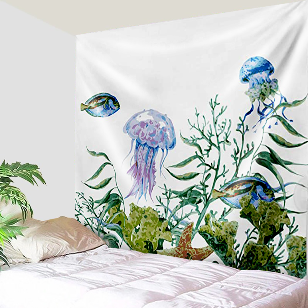 Deep Sea Creatures Tapestry