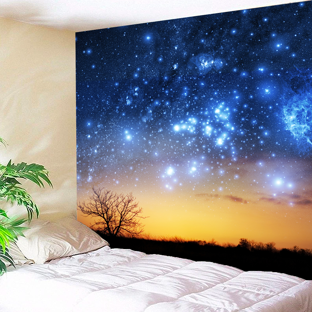 Night Stars Tapestry