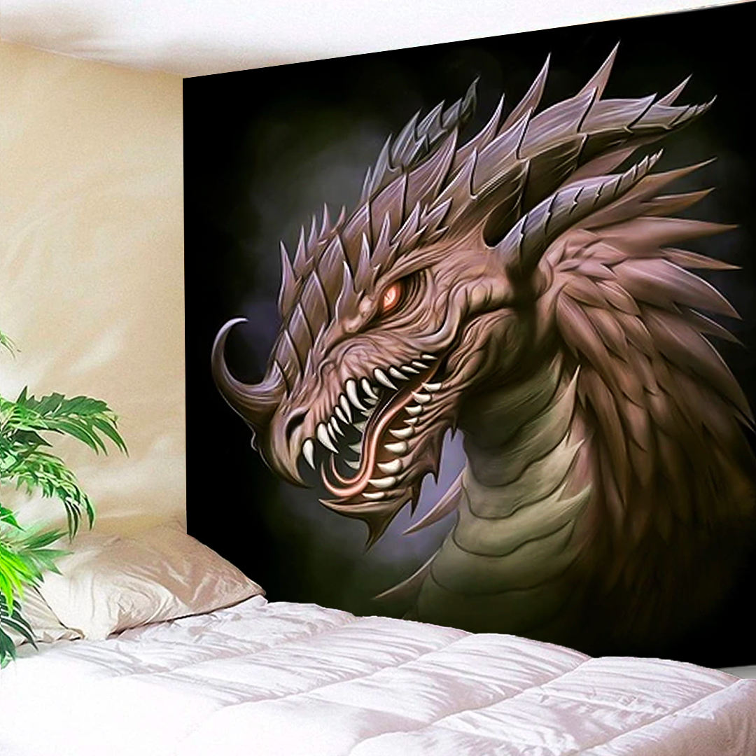 Painted Dragon Tapestry